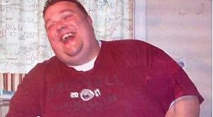 Adam Slack before weight loss