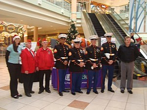 U.S. Marines Toys For Tots Drive with Lite Rock 96.9 WFPG!