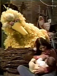 Sesame Street breastfeeding