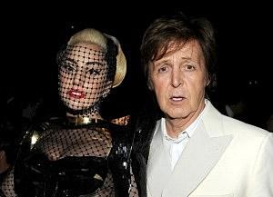 Lady Gaga and Paul McCartney