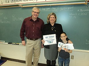 Amy Parker, Lite Rock Teacher of the Month