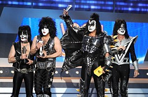 KISS at the 47th Annual Academy Of Country Music Awards