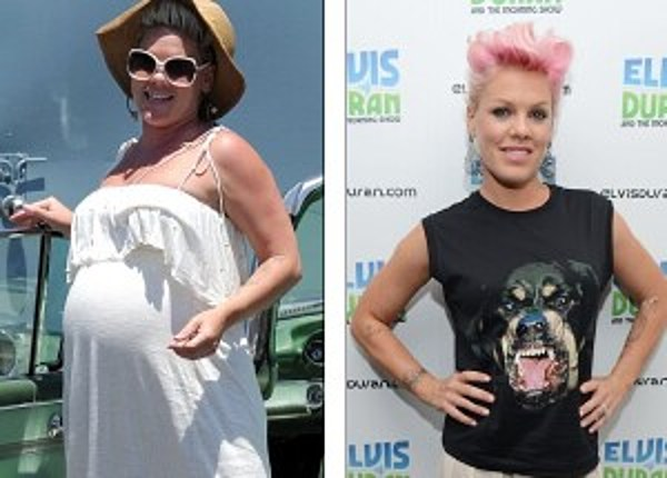 See How Pink Lost 55 Pounds Of Baby Weight How Much Did
