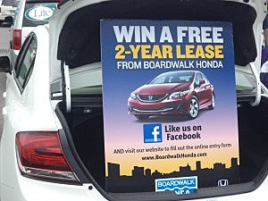 Lite Rock, Boardwalk Honda Car Giveaway