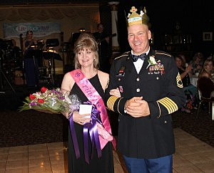 Prom King John and Queen Tammy