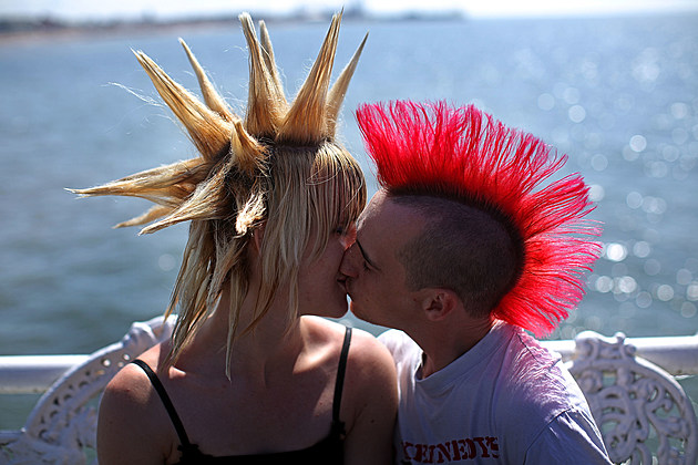 Punks Gather for The Annual Rebellion Festival