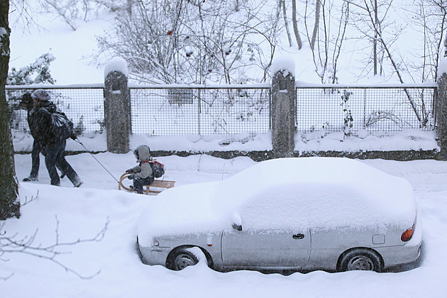 Winter Hits Germany