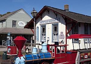 Historic Smithville recreation area