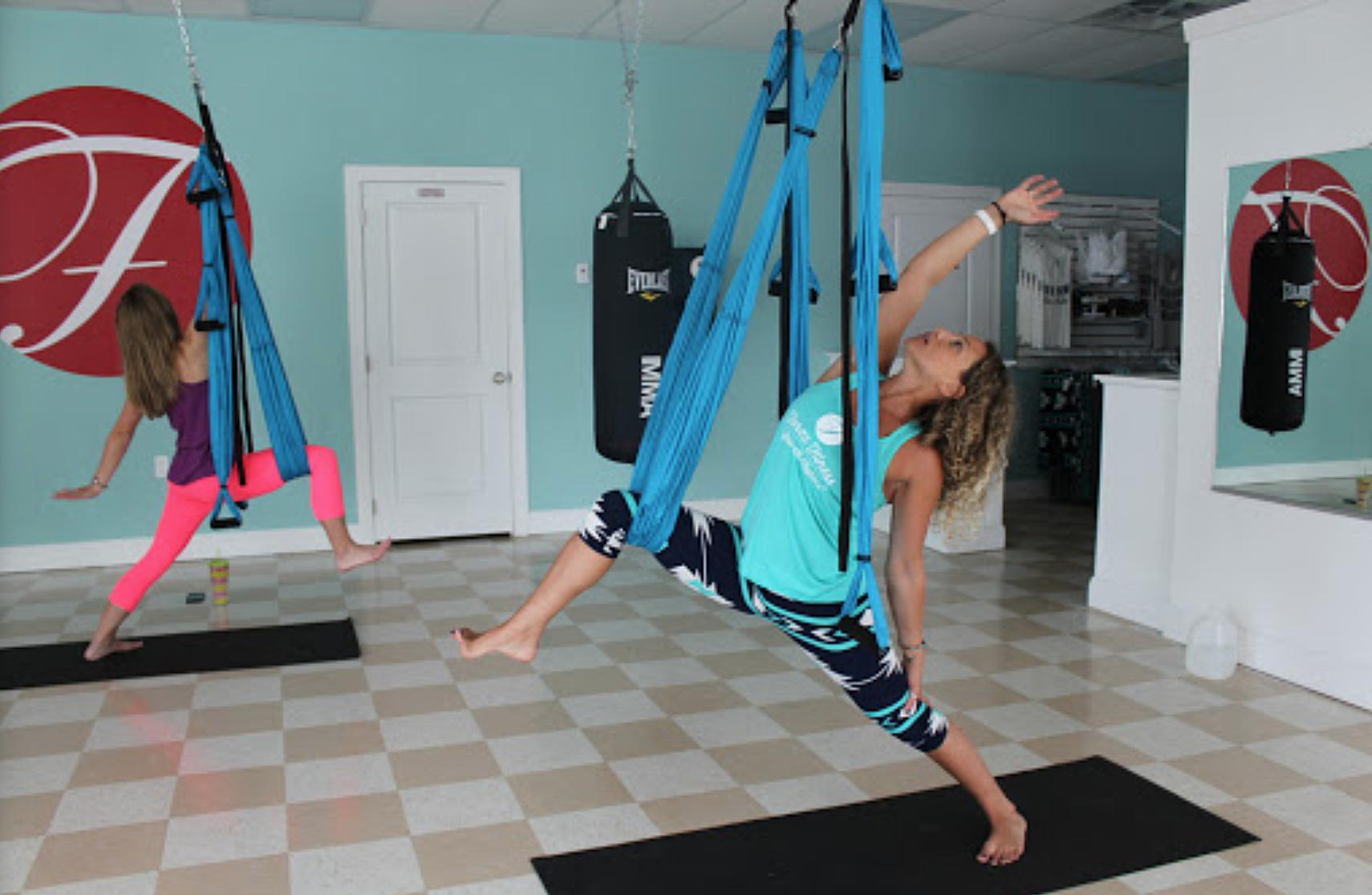 Forza Fitness Aerial Yoga
